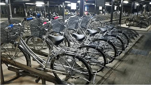 パームブレーキバー自転車
